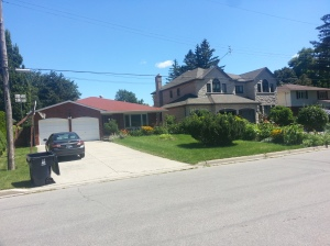 Bungalow and Newer Home