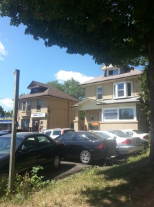 Converted homes to businesses
