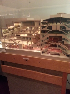 Model of the Theatre