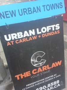Urban Lofts Sign