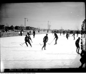Withrow Park Skating 1920