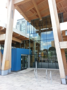 Scarborough Civic Centre Library Exterior (1)