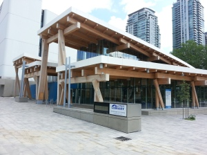 Scarborough Civic Centre Library Exterior (2)