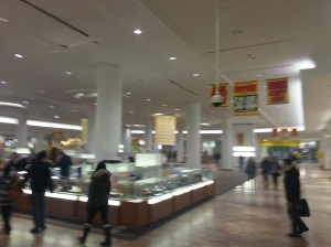 Sears Eaton Centre Shoppers