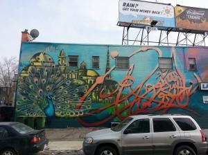 28 Glenside Peacock Mural