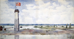 A View of York (Toronto) Upper Canada, 1820