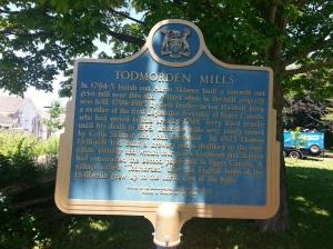 10. Ontario Heritage Trust Todmorden Mills Sign