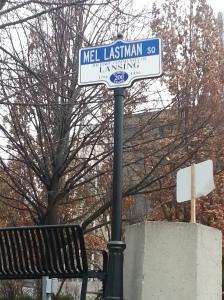 17. Mel Lastman Square sign