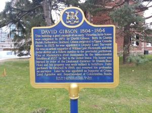 5. David Gibson Ontario Heritage Trust