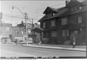 Future Site of Dupont Subway Station, 1954. Credit: City of Toronto Archives, Fonds 200, Series 372, Subseries 33b, Item 425