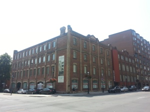 6. Front and George factory