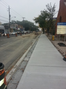 2. Kingston Road Construction