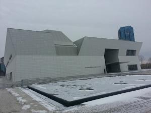 0. Aga Khan Museum outside