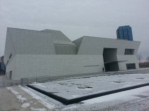 0. Aga Khan Museum outside