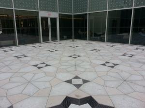 9. Aga Khan Museum courtyard