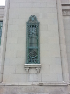 11. Automotive Building Art Deco Detailing