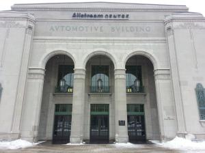 13. Automotive Building Entrance