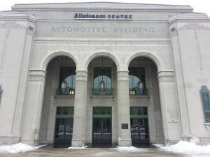 13. Automotive Building Entrance