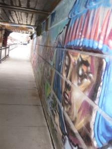 40. Bathurst Street underpass mural