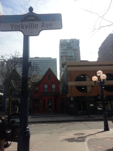 40. Yorkville Avenue at Hazelton Avenue