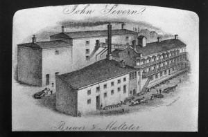 Severn's Brewery, 1870s