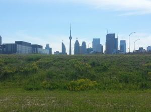 21. Toronto skyline from Corktown