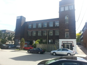 23. 52 St. Lawrence Street Simpson Knitting Mill factory