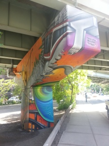 26. King Street East underpass art