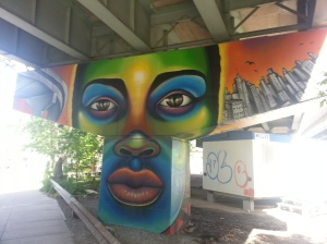 27. King Street East underpass art