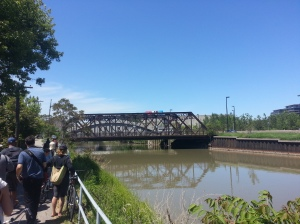 7. Old Eastern Avenue Bridge from Lower Don Trail