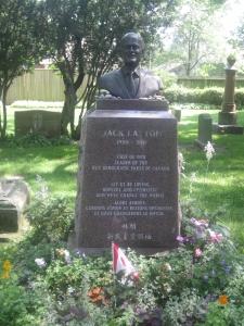 Toronto Necropolis Jack Layton