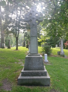 Toronto Necropolis William Lyon Mackenzie