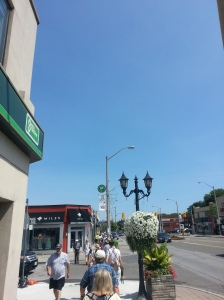 Kingsway Shopping District Bloor Street West