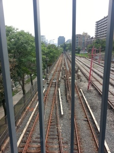 Toronto Belt Line subway tracks