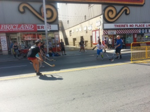 22. Open Streets TO Honest Ed's Hockey