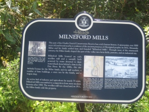 Heritage Toronto Milne Hollow Plaque 1