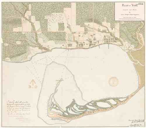 1818 Phillpotts Plan of York