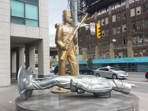 Douglas Coupland Monument to the War of 1812