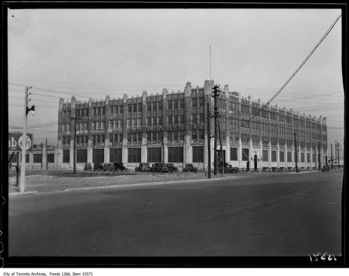 Loblaw Warehouse, Bathurst and Fleet Sts. - January 21, 1929