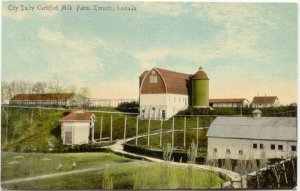 Dentonia Farm Postcard 1910 (2) East York Then and Now