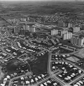 Peanut Aerial Looking Northeast Late 1960s