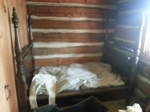 McCowan Log House bedroom