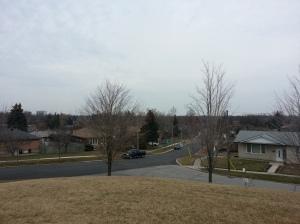 Tabor Hill looking northeast