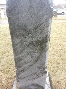 Christie's Methodist Cemetery gravestone
