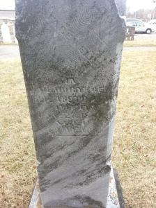 Christie's Methodist Cemetery gravestone