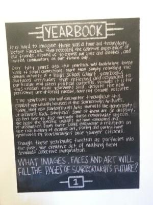 Scarborough Arts Yearbook 1
