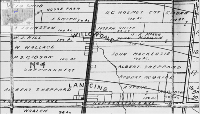 Lansing Willowdale 1916