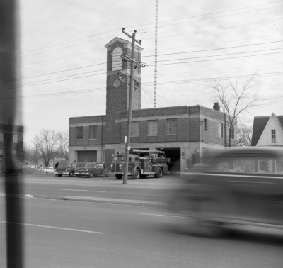 North York Fire Hall 1957
