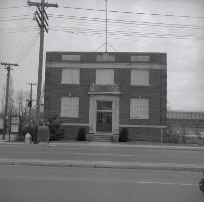 North York Municipal offices 1957