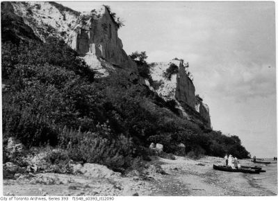 Scarborough Bluffs - general view from west 1915